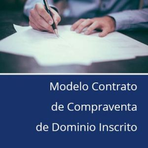 Modelo contrato de compraventa de dominio inscrito